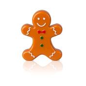 Mad Beauty Gingerbread Man Lip Gloss - Vanilla