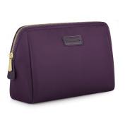CHICECO Handy Large Nylon Makeup Bag Waterproof Toiletry Bag Organiser - Dark Purple