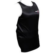 TurnerMAX Boxing Vest Black Gym Fitness Training Top Sleeveless