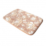 40x60cm New Soft Comfort Flower Cotton House Bath Bathroom Floor Shower Mat Rug Non-slip #6