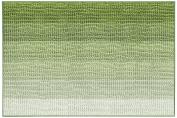 Harman Gradient Microfiber Chenille Bath Mat, Green