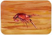 """Caroline's Treasures 8232-JCMT """"Crawfish"""" Kitchen or Bath Mat, 60cm by 90cm , Multicolor"""