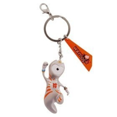Official Olympic 2012 Wenlock Keyring by London Olympics 2012