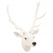 Wall Mounted Reindeer Head Christmas Decoration Stag Ornament Trophy