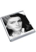 ANNE HATHAWAY - Original Art Coaster #js001