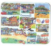 "Emma Ball - ""Cornwall"" Coasters - Set of 4"