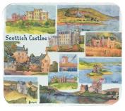 "Emma Ball - ""Scottish Castles"" Coasters - Set of 4"