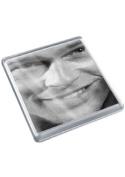 BRAD PITT - Original Art Coaster #js002