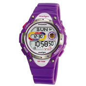 Pasnew LED Waterproof 100m Sports Digital Watch for Children Girls Boys