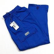 Pro Club Men's Fleece Cargo Pants Sweatpants - Royal Blue