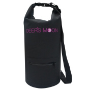 Deer's Moon- Waterproof Dry Bag 15L Roll Dry Compression Sack for Kayaking, Beach, Rafting, Boating, Hiking, Camping and Fishing