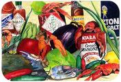 "Caroline's Treasures 1020CMT ""Spices & Crawfish"" Kitchen or Bath Mat, 20"" by 30"", Multicolor"