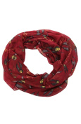 Elope Womens Harry Potter Golden Snitch Infinity Scarf Standard