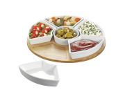 Esmeyer 060 Cutlery, 34 x 34 x 6.5 cm Porcelain White