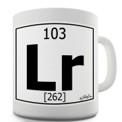 Twisted Envy Periodic Table Of Elements Lr Lawrencium Ceramic Mug