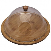 Bamboo Round Cheese Tray with Cover