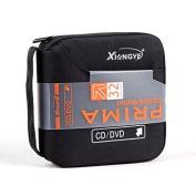 New 32 Disc CD DVD Portable Wallet Storage Organiser Holder Case Bag Album Box