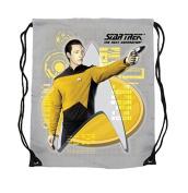 Star Trek Lt. Commander Data Cinch Bag