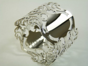 NEW Sterling Silver NAPKIN or Serviette RING Boxed Pierced