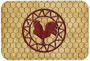 "Caroline's Treasures SB3085JCMT ""Rooster Chicken Coop"" Kitchen or Bath Mat, 60cm by 90cm , Multicolor"