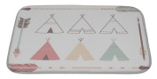 Gear New Teepee Tents And Arrows Bath Mat Rug, Microfiber Memory Foam with no skid back, 90cm x 50cm GN39189