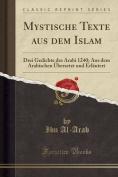 Mystische Texte Aus Dem Islam [GER]