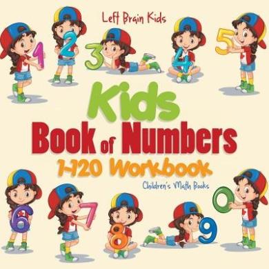 Kids Book of Numbers 1-120 Workbook - Children's Math Books