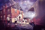 'Rolling Back The Years' Limited Edition A3 print of Craven Cottage - Fulham FC