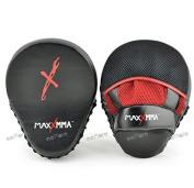 MaxxMMA Pro. Punch Mitts - Boxing Punching MMA Training Fitness Practise