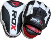 RDX Boxing Focus Mitts Punching Hook & Jab Pads MMA Training Target Thai Strike Kick Shield