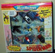 The Amazing Spider-Man Marvel Collector's 9 Micromachines Set
