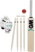 Gunn & Moore Maxi Cricket Sport Match Playing (Bat,Gloves,Ball,Stumps,Bails) Set