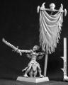 Darkspawn Standard Bearer Warlord Minature Figures by Reaper Miniatures by Reaper Minatures