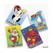 Fun Express 72-Pack Of Kid's Colouring Books ~ Great Party Favours! Assorted Designs By Fun Express
