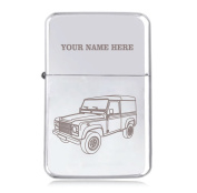 Land Rover Design - Personalised STAR Windproof Petrol Lighter