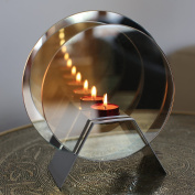 Infinity Candle - Magical Effect of Candles Mirrored - Glass Tealight Holder by TreatHer