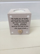 Personalised Candle Special Auntie Uncle Aunty Great Aunt Gift any name you want