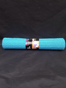 1 x blue anti non slip mat -size 150 x 30cm [ can easily cut to size ] keep things on place or stop rug or slipping
