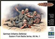 Masterbox 1:35 Scale German Infantry Eastern Front Battle Series Kit