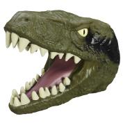 Jurassic Park Toy - Chomping Velociraptor Head Puppet - Dinosaur World Figure Playset