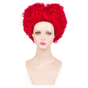 SiYi Anime Movi Alice in Wonderland Red Queen Beautyful Nifty Cosplay Wig