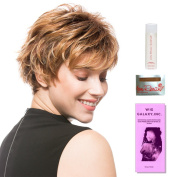 Push Up by Ellen Wille, Wig Galaxy Hair Loss Booklet, 60ml Travel Size Wig Shampoo, Wig Cap, & Wide Tooth Comb (Bundle - 5 Items), Colour Chosen
