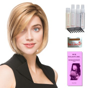 Elite by Ellen Wille, Wig Galaxy Hair Loss Booklet, Shampoo, Conditioning Spray, Flexible Spray, HD Smooth Detangler, Wig Cap, & Wide Tooth Comb (Bundle - 8 Items), Colour Chosen