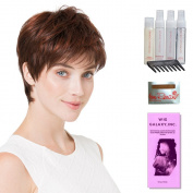 Fair Mono by Ellen Wille, Wig Galaxy Hair Loss Booklet, Shampoo, Conditioning Spray, Flexible Spray, HD Smooth Detangler, Wig Cap, & Wide Tooth Comb (Bundle - 8 Items), Colour Chosen