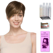 Disc by Ellen Wille, Wig Galaxy Hair Loss Booklet, Shampoo, Conditioning Spray, Flexible Spray, HD Smooth Detangler, Wig Cap, & Wide Tooth Comb (Bundle - 8 Items), Colour Chosen