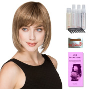 Change by Ellen Wille, Wig Galaxy Hair Loss Booklet, Shampoo, Conditioning Spray, Flexible Spray, HD Smooth Detangler, Wig Cap, & Wide Tooth Comb (Bundle - 8 Items), Colour Chosen