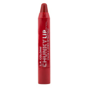 L.A. Colours Chunky Lip Pencil, Deep Red, 0ml