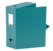 Viquel Polypropylene Class Doc Box File Spine 100 mm green