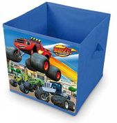 Blaze and The Monster Machines Square Shaped Childrens Storage Box By BestTrend