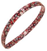 France Luxe 1.3cm Ultracomfort Headband - Petite Fleur Red